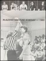 1980 McAlester High School Yearbook Page 204 & 205