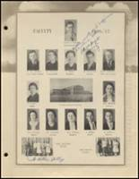 1937 Clyde High School Yearbook Page 10 & 11