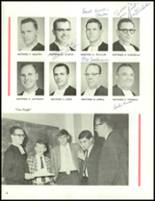 1966 Central Catholic High School Yearbook Page 16 & 17