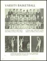 1966 Central Catholic High School Yearbook Page 70 & 71