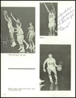1966 Central Catholic High School Yearbook Page 74 & 75