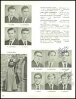 1966 Central Catholic High School Yearbook Page 110 & 111