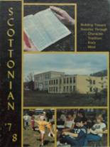 1978 Yearbook Scott High School