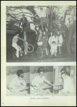 1972 Eula High School Yearbook Page 10 & 11