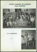 1972 Eula High School Yearbook Page 70 & 71