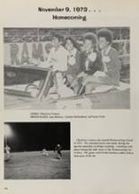 1974 Lanier High School Yearbook Page 110 & 111