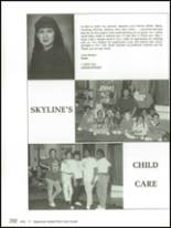 1991 Skyline High School Yearbook Page 296 & 297