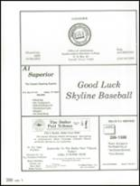 1991 Skyline High School Yearbook Page 312 & 313