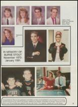 1991 Sperry High School Yearbook Page 12 & 13