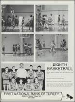 1991 Sperry High School Yearbook Page 100 & 101