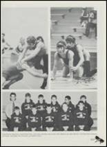 1991 Sperry High School Yearbook Page 110 & 111