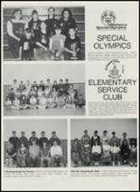 1991 Sperry High School Yearbook Page 154 & 155