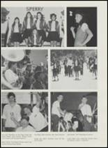 1991 Sperry High School Yearbook Page 156 & 157