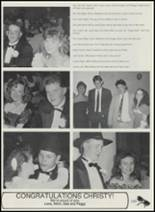 1991 Sperry High School Yearbook Page 166 & 167