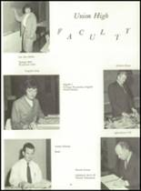 1966 Union High School Yearbook Page 72 & 73