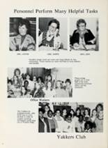 1977 Franklin Junior High School Yearbook Page 10 & 11