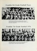 1977 Franklin Junior High School Yearbook Page 14 & 15