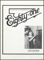 1981 Edgewood-Colesburg High School Yearbook Page 84 & 85