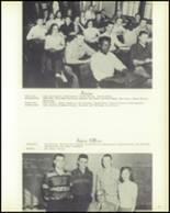 1958 Hopedale High School Yearbook Page 24 & 25
