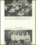 1958 Hopedale High School Yearbook Page 38 & 39