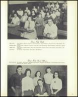 1958 Hopedale High School Yearbook Page 54 & 55