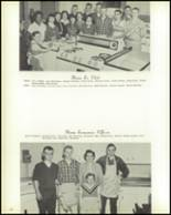 1958 Hopedale High School Yearbook Page 56 & 57