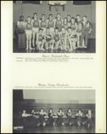 1958 Hopedale High School Yearbook Page 74 & 75