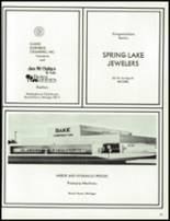 1980 Spring Lake High School Yearbook Page 208 & 209