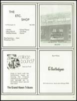 1980 Spring Lake High School Yearbook Page 220 & 221