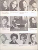 1971 Bangor High School Yearbook Page 22 & 23