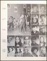 1971 Bangor High School Yearbook Page 54 & 55