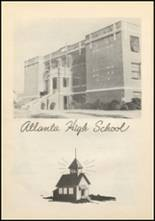 1947 Atlanta High School Yearbook Page 10 & 11