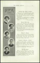 1923 Rome Free Academy Yearbook Page 16 & 17