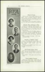 1923 Rome Free Academy Yearbook Page 20 & 21