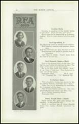 1923 Rome Free Academy Yearbook Page 22 & 23