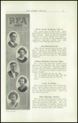 1923 Rome Free Academy Yearbook Page 24 & 25