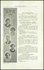 1923 Rome Free Academy Yearbook Page 26 & 27