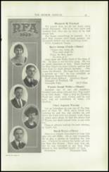1923 Rome Free Academy Yearbook Page 28 & 29