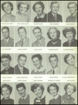 1955 Labette County High School Yearbook Page 44 & 45