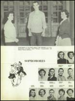 1955 Labette County High School Yearbook Page 58 & 59