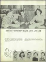 1955 Labette County High School Yearbook Page 62 & 63