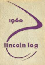 1960 Yearbook Lincoln High School