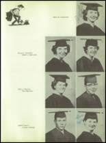 1955 Williams High School Yearbook Page 16 & 17