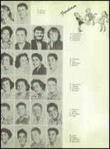 1955 Williams High School Yearbook Page 36 & 37
