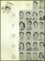1955 Williams High School Yearbook Page 38 & 39