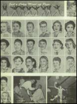 1955 Williams High School Yearbook Page 92 & 93