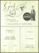 1955 Williams High School Yearbook Page 106 & 107