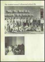 1978 Neal High School Yearbook Page 14 & 15