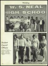 1978 Neal High School Yearbook Page 102 & 103