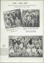 1948 Griffith High School Yearbook Page 52 & 53